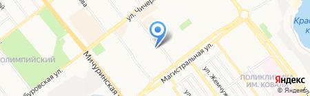 Ларчик на карте Тамбова