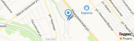 ДК на карте Тамбова