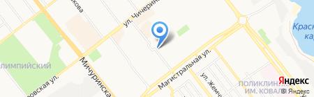 Киоск по продаже печатной продукции на карте Тамбова