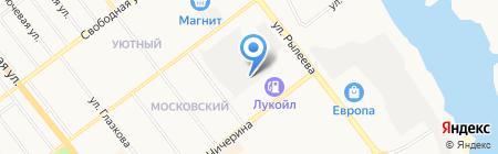 Автосервис на Чичерина на карте Тамбова