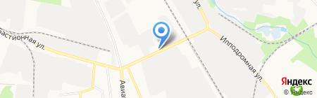 Шиномонтажная мастерская на Авиационной на карте Тамбова