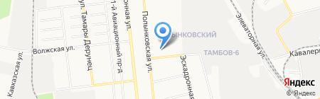 Детский сад №66 Тополёк на карте Тамбова