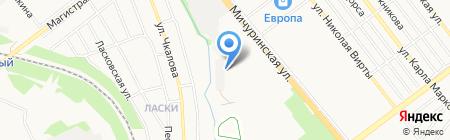 Рекламный экспресс на карте Тамбова