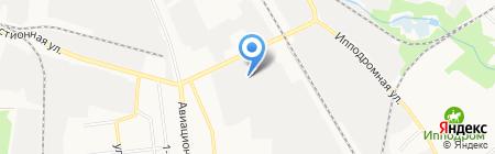 Сток на карте Тамбова