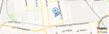 Детский сад №5 Звоночек на карте Тамбова