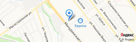 Киоск по ремонту обуви на карте Тамбова