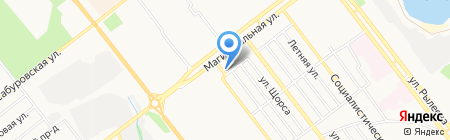 КИР на карте Тамбова