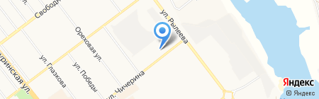 Лукойл на карте Тамбова