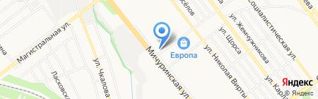 Компас на карте Тамбова