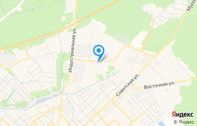 Местоположение на карте пункта техосмотра по адресу Рязанская обл, г Касимов, ул Индустриальная, д 7А