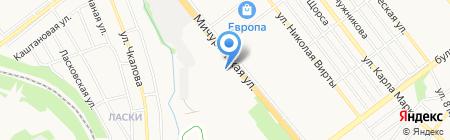 Центрально-Черноземный банк Сбербанка России на карте Тамбова