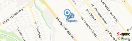 Тамбовская Церковь Христа Спасителя Евангельских Христиан на карте Тамбова