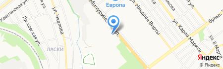 Отдел ГИБДД Управления МВД России по г. Тамбову на карте Тамбова