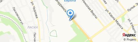 Пежо центр Тамбов на карте Тамбова