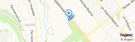 МакАвто на карте Тамбова