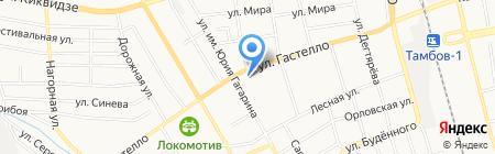 Алекс на карте Тамбова