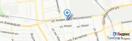 Аргон на карте Тамбова