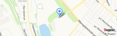 Автошкола на карте Тамбова