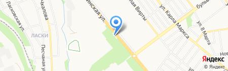 Альфа-М на карте Тамбова