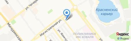 Орленок на карте Тамбова