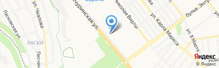 Продовольственный магазин на Мичуринской на карте Тамбова