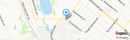 СТО68 на карте Тамбова