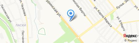 Вовочка на карте Тамбова