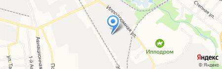 Омега на карте Тамбова