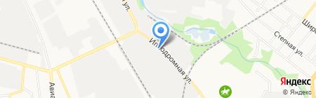 Магазин крепежных изделий на Ипподромной на карте Тамбова