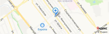 Октябрьский районный суд г. Тамбова на карте Тамбова