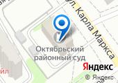 Октябрьский районный суд г. Тамбова на карте