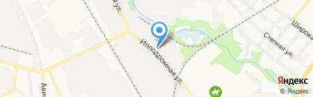 Тамбовский завод ЖБИ на карте Тамбова