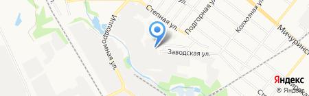Бурводстрой на карте Тамбова