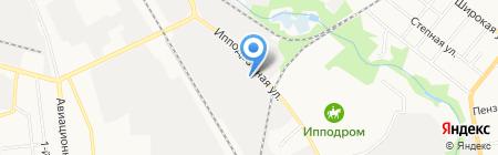 Кованый металл на карте Тамбова