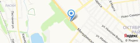 Мясной магазин на карте Тамбова