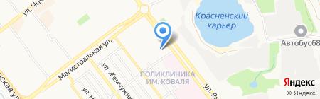 ДЮСШ №6 на карте Тамбова