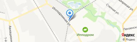 Детали ГАЗ машин на карте Тамбова