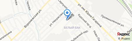 Библиотека №9 им. И.А. Крылова на карте Тамбова