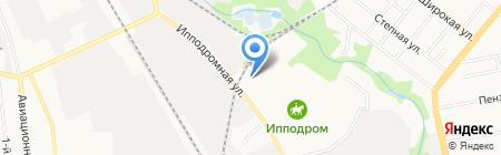Верона на карте Тамбова