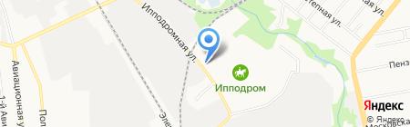 Молочная доставка на карте Тамбова
