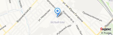 Авто68 на карте Тамбова