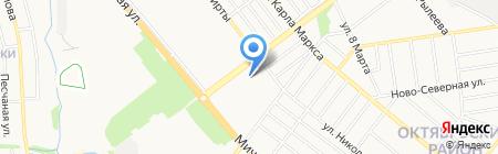 Детский сад №45 Буратино на карте Тамбова