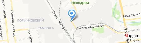Магазин семян и цветов на Кавалерийской на карте Тамбова