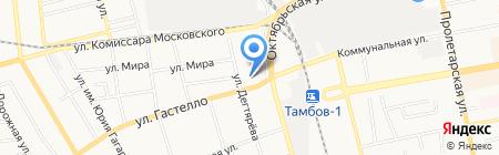 Фотостудия Павла Блудова на карте Тамбова