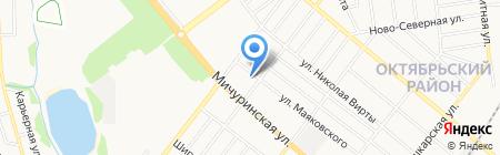 Детская музыкальная школа №2 на карте Тамбова