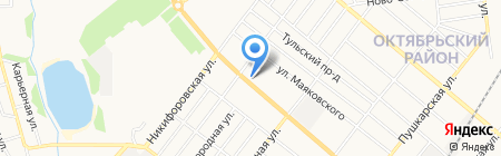 Аптека оптовых цен №2 на карте Тамбова