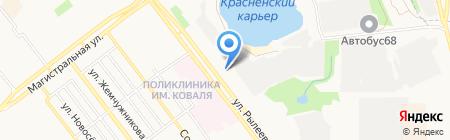 Зоорай на карте Тамбова