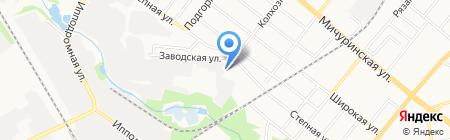 Соль на карте Тамбова