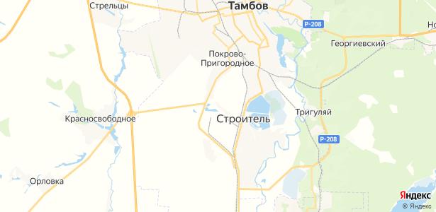 Покрово-Пригородное на карте