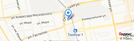 Автореспект на карте Тамбова
